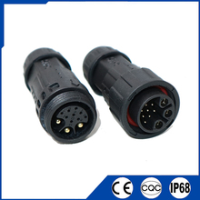 12 pin waterproof connector 3+9pin aviation plug 25A 5A current singal electrical cable connector IP68 for outdoor Led light