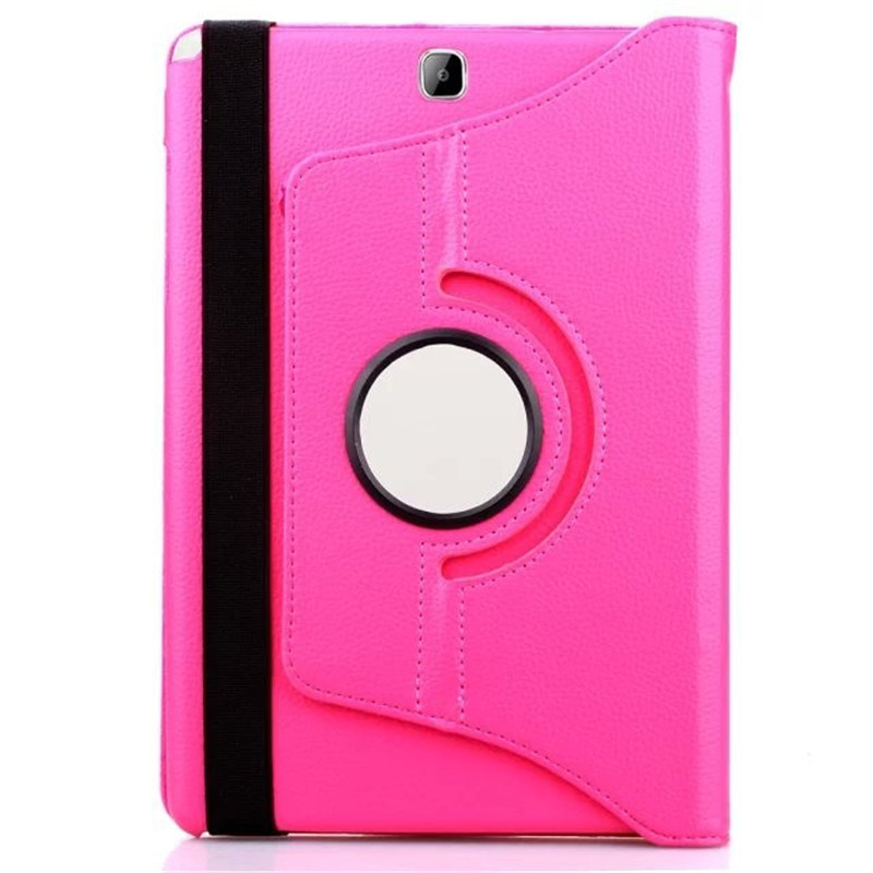 For Samsung Galaxy Tab A 9.7 Case SM-T550 T555 PU Leather 360 Rotating Stand Tablet Cover Case For SM T555 T550