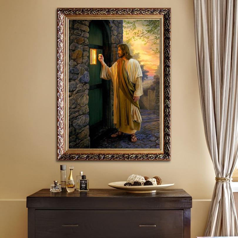 Иса Крис кенепті басып шығару - Үйдің декоры - фото 1
