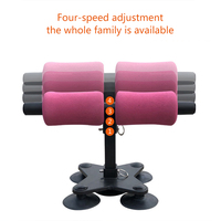 Portable Situp Bar Abdominal Muscle Trainer Fitness Equipment for Push Up Muscle Training FG66