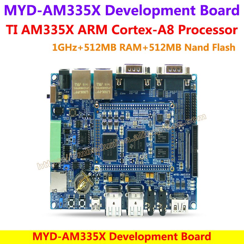 MYD AM3358 Development Board AM3358 TI Cortex A8 1GHz TI AM3358 Series ARM Cortex A8 Processors