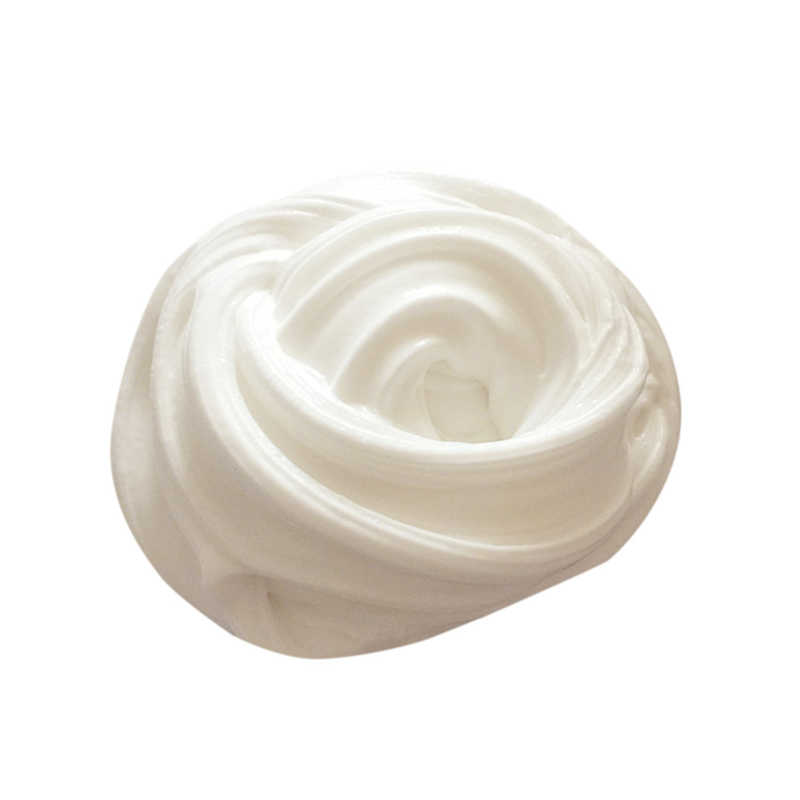 DIY White Fluffy Slime Toys Clay Floam Slime Scented Stress Relief Kids Toy Sludge Cotton Release Sand Clay Toy Plasticine Gifts