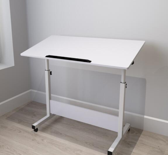 80 40cm Height Adjustable Mobile Laptop Desk Folding