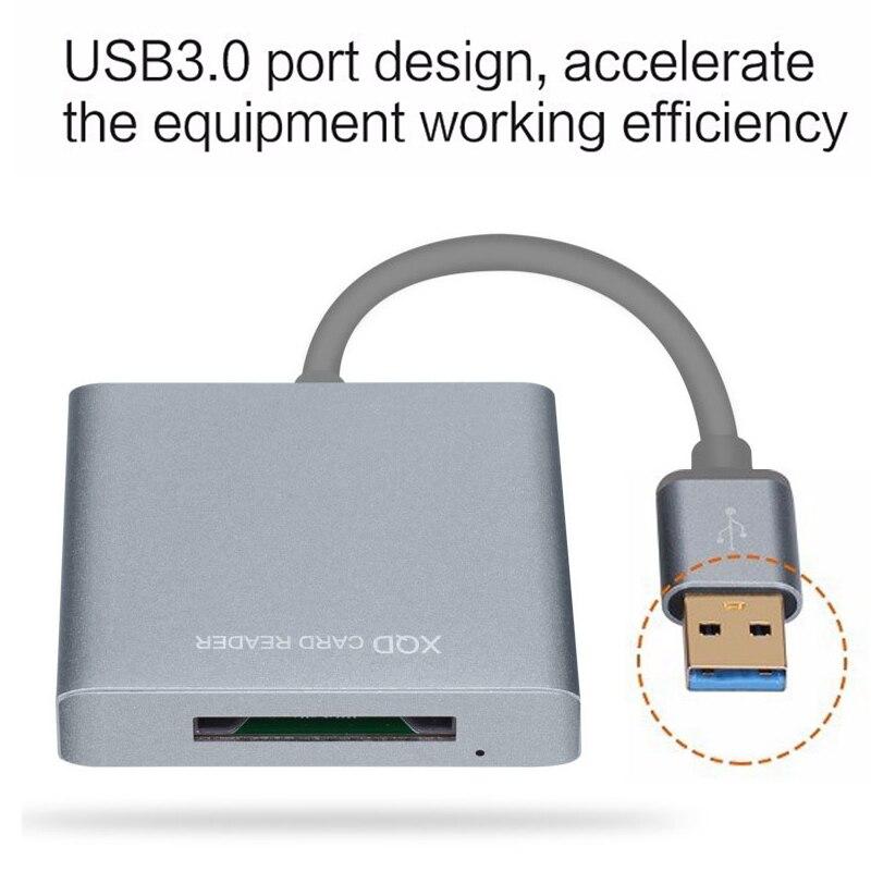 Profesional USB3.0 XQD lector de tarjeta XQD 2,0 lector de tarjeta de memoria USB 3,0 de XQD2.0 de alta velocidad de transferencia de Sony y todo tarjeta XQD