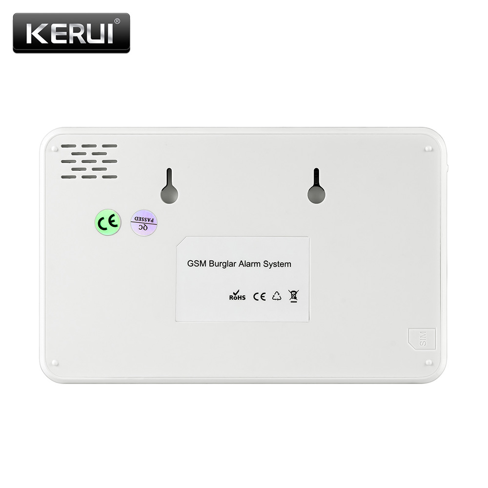 Image 3 - KERUI W18 433MHz 4 Language Security Alarm System Wireless 1.7 inch IOS/Android APP Control Wifi GSM Home Burglar Alarm Suits-in Alarm System Kits from Security & Protection