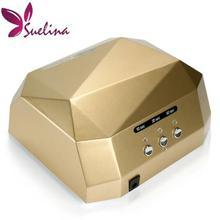 United Kingdom Sensor Dryer gel rapid drying device Diamond Shaped Lamp CCFL Curing for UV Gel Polish Nail Art Diamand DIY