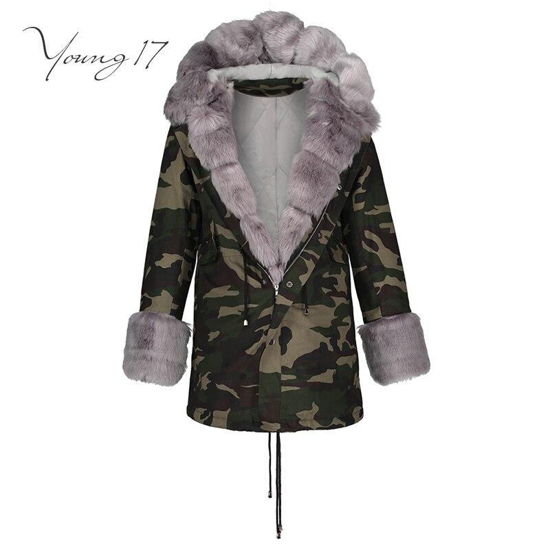 Здесь продается  Young17 Women Green Black Hooded Winter Wool Coat Full Sleeve Autumn Winter Zipper Warm Female Long Outwear Back Lace Up Wool   Одежда и аксессуары