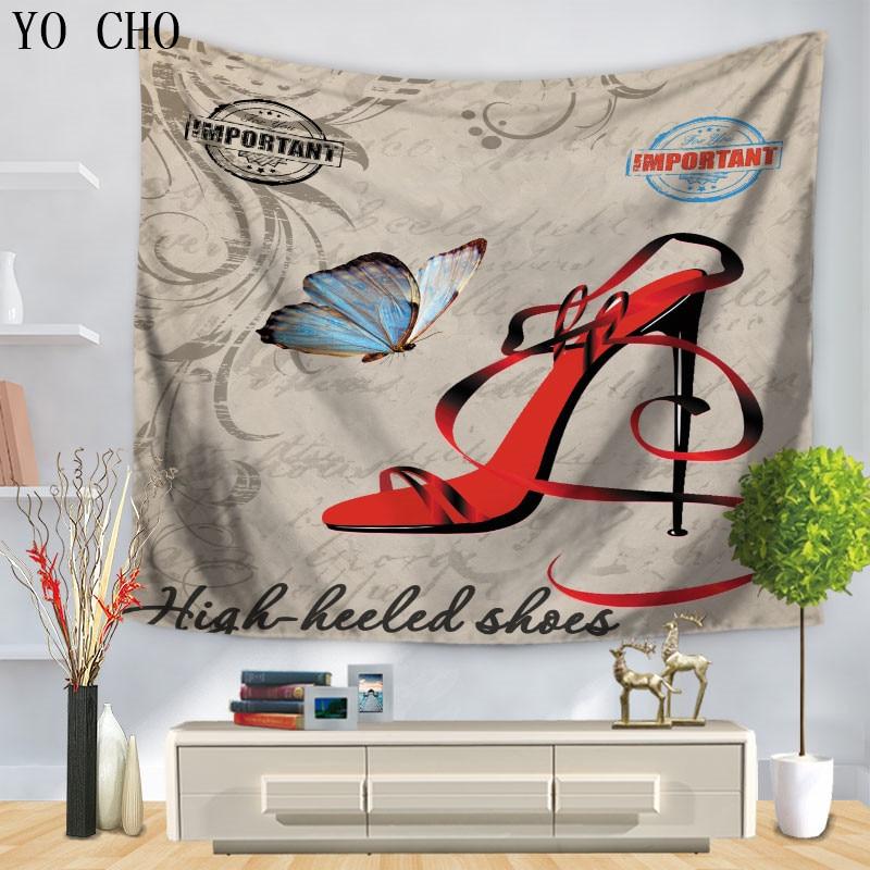 Home Decor Nation: YO CHO Retro Home Decor Famous National Symbols Tapestry