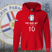 Paraguay nation team mens hoodies men sweatshirt sweat new streetwear tracksuit footballer sporting PRY Paraguayan Mestizo 2017