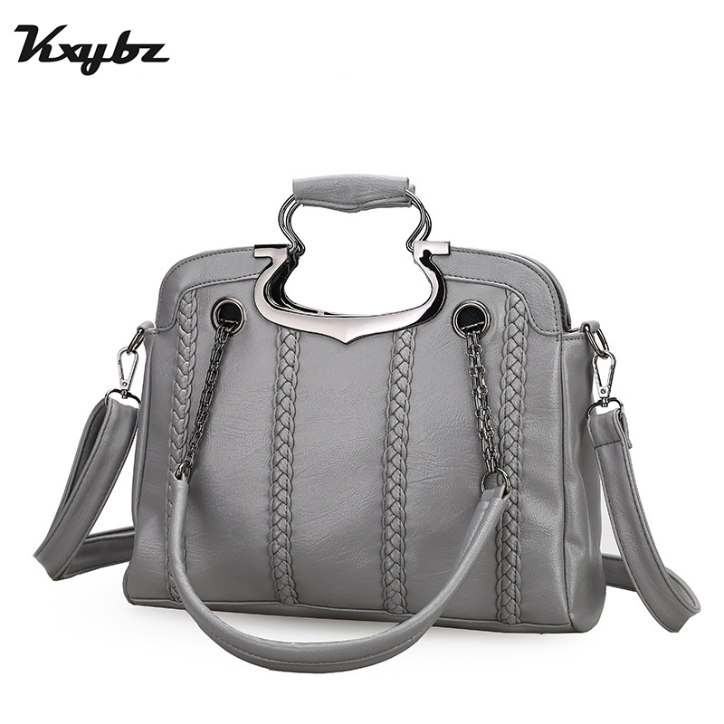 KXYBZ Famous Brand Tote Bags For Women Crossbody Shoulder Bag High Quality  Ladies Hang Bags PU Leather Women Hand Bags K2044 candy color women shoulder bag famous brand messenger bags mini crossbody bags for women japan korean high quality design xh209