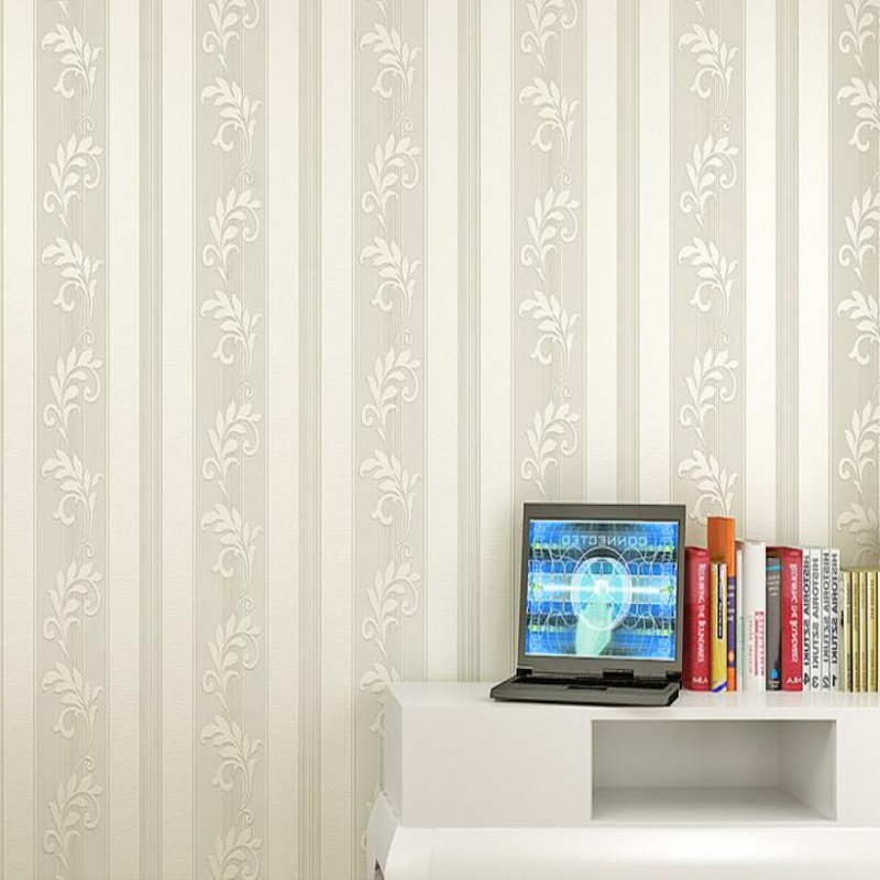 Beibehang green wallpaper bedroom luxury 3d wallpaper mural simple three - dimensional vertical stripes wallpaper for walls 3 d подвязка roxana атласная белая xl xxxl