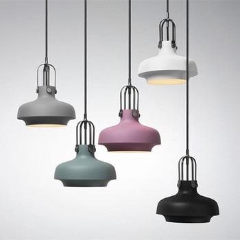 NEW Colorful simple design can be customized E27 Pendant Light Suspension Modern LED Bulbs Bar Restaurant Pendant Lamp