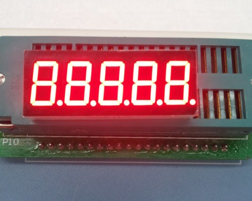 Free Ship 100PCS Cathode/Common Anode 0.36 Inch Digital Tube 5 Bits Digital Tube Led Display 0.36inches Red Digital Tube