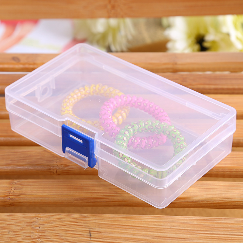 naujas stačiakampio formos skaidrus plastikinis laikymo dėžės - Organizavimas ir saugojimas namuose - Nuotrauka 1