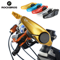 ROCKBROS Bicycle Grips MTB Mountain Road Bike Handlebar Grips 5 Colors Cycling Handle Bar Grip Aluminium