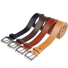 Vintage Cowboys Style Genuine Leather Belt