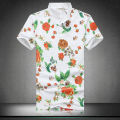 2016 New Brand Mens Fashion Floral T Shirts Men Flower Print T Shirts Men Plus Size M to 3XL 5XL 4XL Top Tees Men 5z