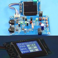 5W 7w FM Transmitter Radio Station PLL Stereo Digital Frequency KITS Lcd Digital Display