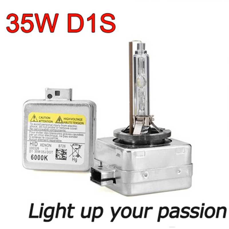 2db xenon D1S D1C HID Izzó csere 4300K 5000K 6000K 8000K xenon - Autó világítás - Fénykép 2
