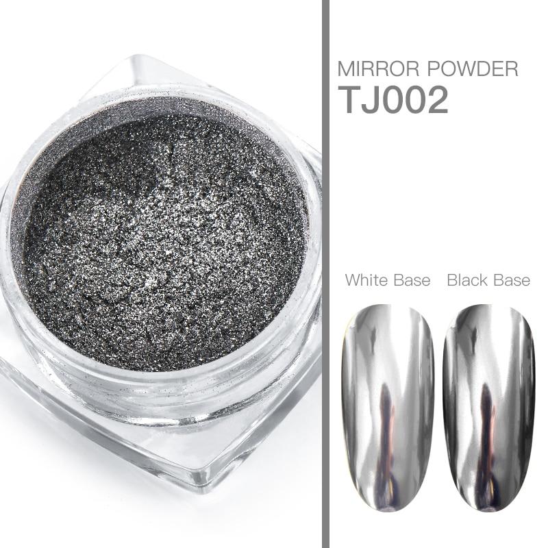 Волшебное зеркало блеск для ногтей Dip порошок Сияющий хром пигмент пыль голографическое искусство ногтей Маникюр УФ пудра для ногтей гель лак - Цвет: VS00728