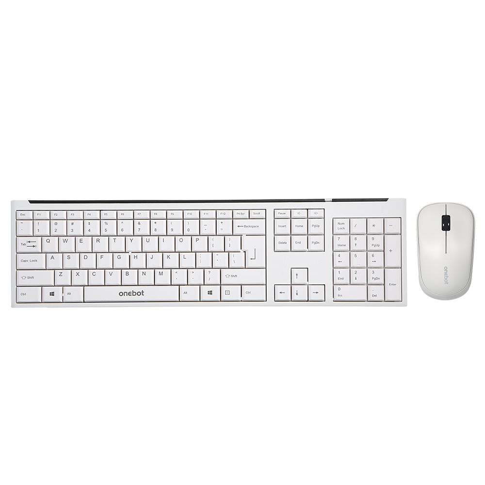 Onebot 24ghz Wireless Keyboard Mouse Combo 1000dpi Mice Computer Pc Diagram Kids Keyboards For Laptop Desktop Macbook Air Pro In Combos From