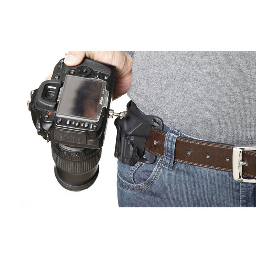 1-4-Screw-Camera-Waist-Spider-Belt-Holster-Quick-Strap-Buckle-Dull-Polished-Surface-for-DSLR