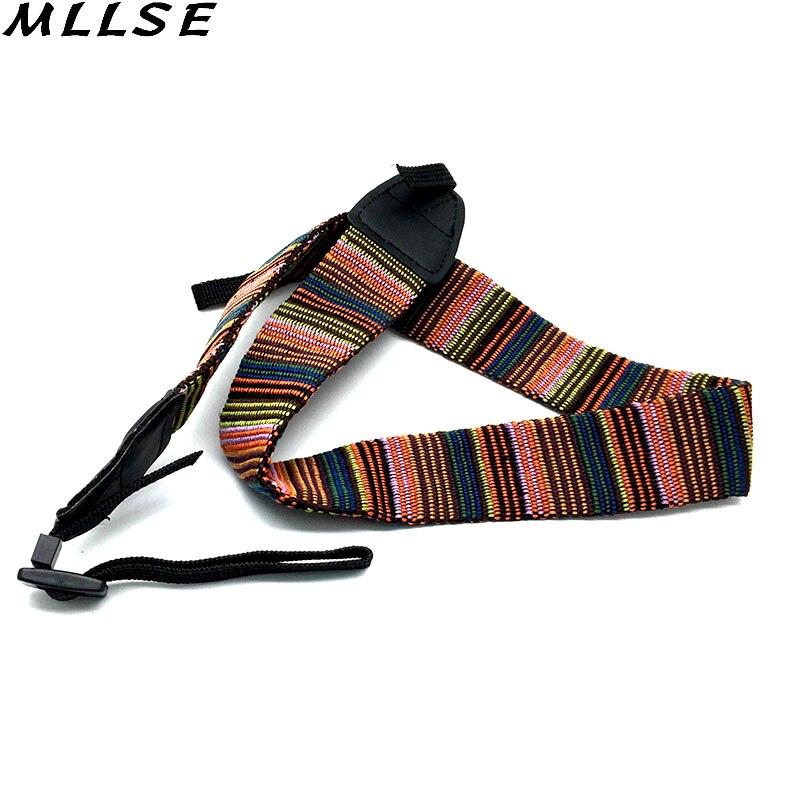 MLLSE Universal Camera Shoulder Neck Vintage Single Sling Strap Belt For Canon EOS Nikon Sony Nex for Camera DSLR Accessories