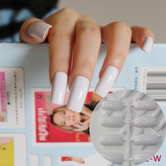 Nails Fake Hand French Artificial