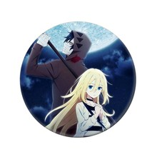1Pc Anime Angels Of Death Cosplay Badge Cartoon Rachel Gardner Ray Brooch Pins Collection Bags Badges For Backpacks(China)