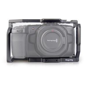 Image 1 - Magicrig bmpcc 4 k 카메라 케이지 blackmagic 포켓 시네마 카메라 bmpcc 4 k/bmpcc 6 k 마운트 마이크 모니터 led 라이트