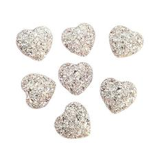 20 шт Стразы в форме сердца из смолы для скрапбукинга/свадьбы/рукоделия