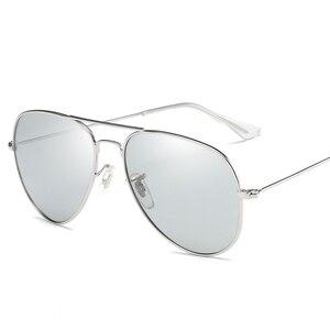 Image 3 - VCKA Photochromic משקפי שמש גברים נהיגה מקוטב משקפיים שמש זיקית טייס ראיית לילה משקפי משקפיים uv400 Eyewear