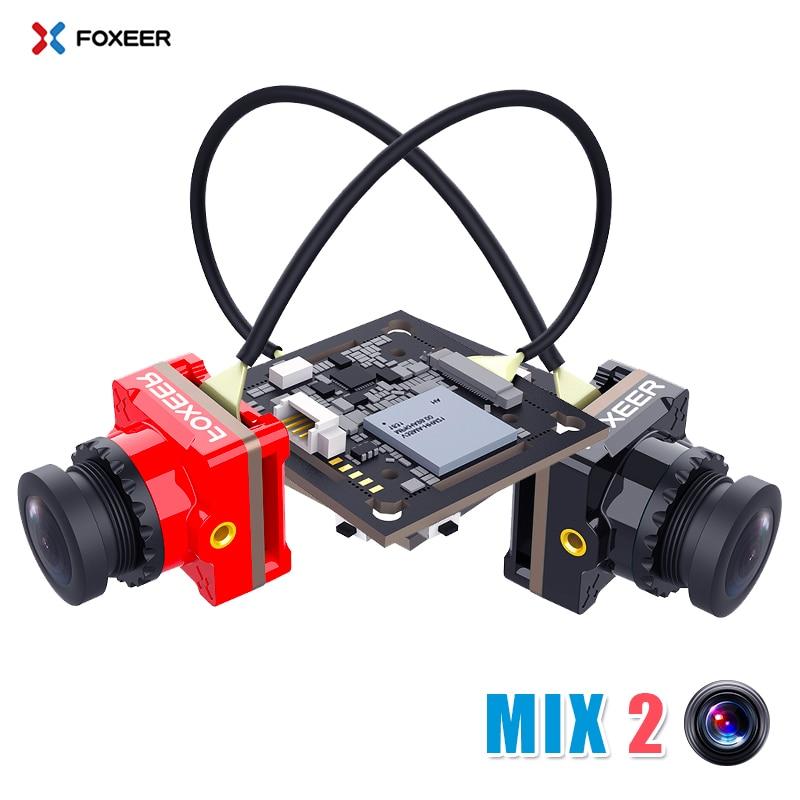 Foxeer MIX 2 DC5 24V 1080p 60fps Super WDR Mini HD Recording Action FPV Camera Low