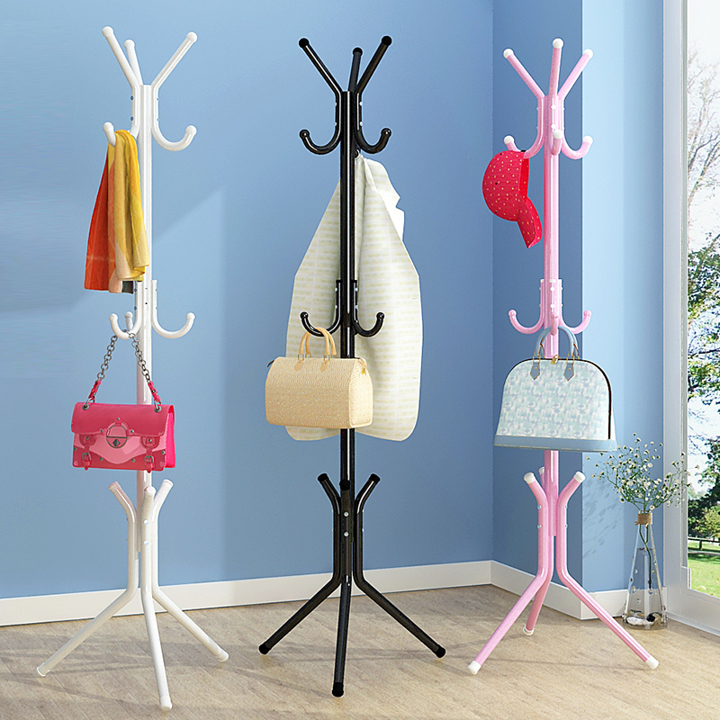 Modern minimalist fashion livingroom storage closet multifunctional stainless steel hanger hat rack creative furniture coat rack lanskaya creative modern minimalist fashion mobile landing tree coat hook home furniture clothes hanger