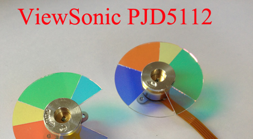 Projector Color Wheel For ViewSonic PJD5112 new original projector color wheel for viewsonic pjd6240 color wheel
