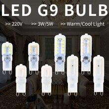 G9 LED Lamp Mini Corn Light Bulb 220V Lampada Led g9 3W 2835SMD Spotlight 14 22leds Halogen 5W Chandelier Replace