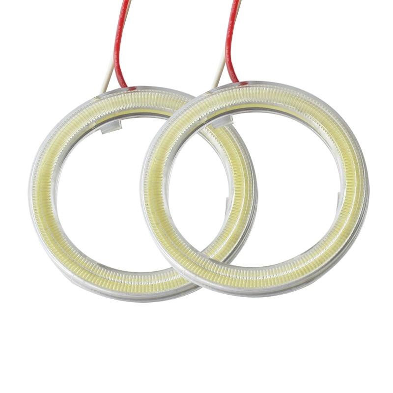 2db Halo gyűrűk Angel Eyes Autós kiegészítők autókhoz DRL - Autó világítás