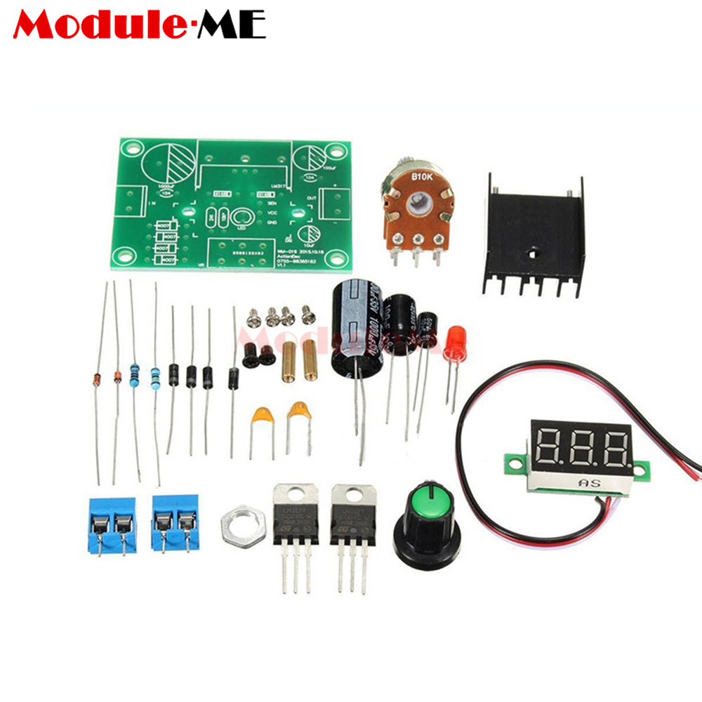 Blue Led 5mm Light Lm358 Breathing Lamp Parts Kit Electronics Diy 358 Ic Dual Operational Amplifiers Dip8 Integrated Circuit Lm317