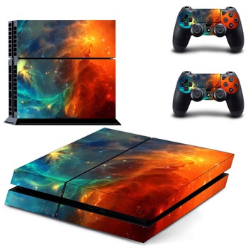 For PS4 Controller Protective Skins Cover+ Removable Vinyl Decal Skin Cover For playstation 4 Console For PS4 Skin Stickers