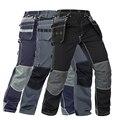 Uomini Pantaloni Multi-Tasche Funzionali di Lavoro di Usura-resistenza Abbigliamento Da Lavoro pantaloni Da Lavoro di Alta qualità Meccanico Riparazione Mens Pantaloni Cargo