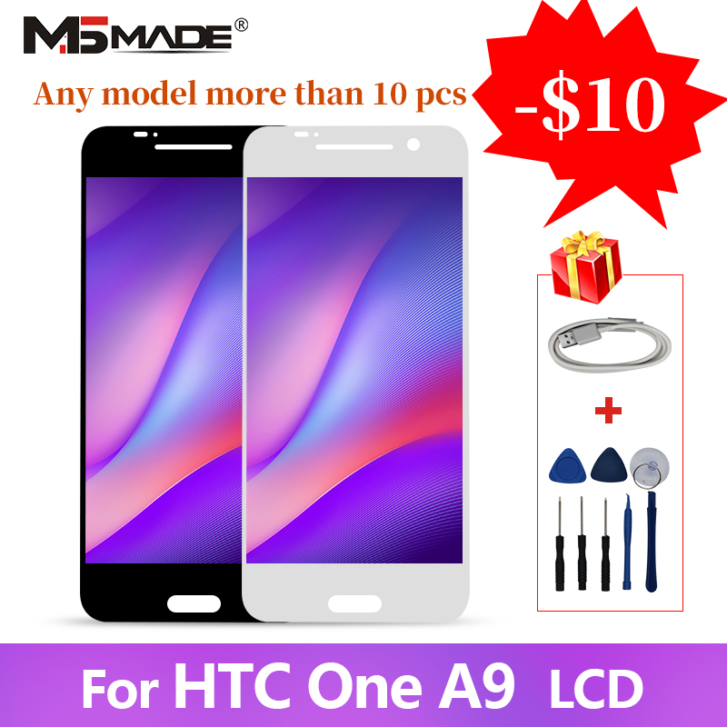 Original AMOLED For HTC One A9 LCD Touch Screen Digitizer Display Replacement Parts A9 LCD No Dead Pixels Free Shipping(China)