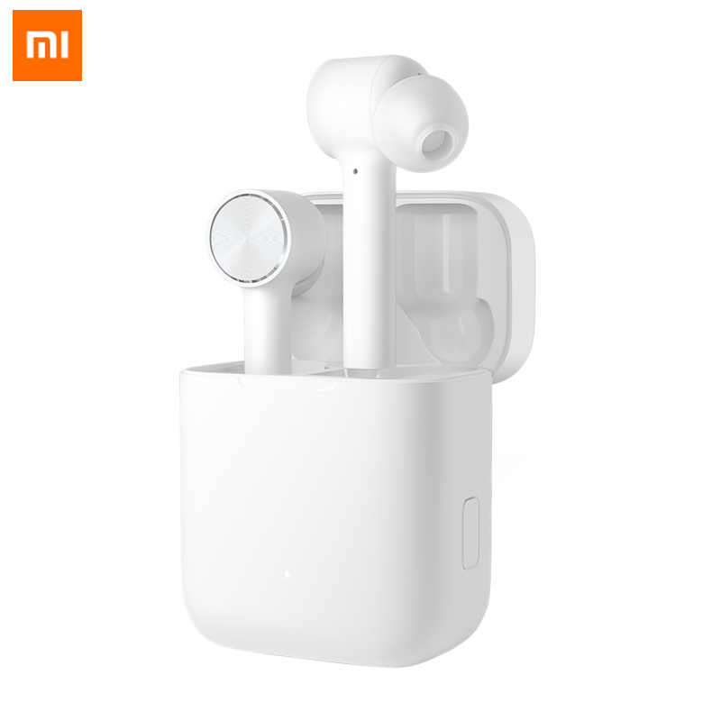Original Xiaomi Wireless Earphone Air Bluetooth TWS True Active Noise Cancelling Smart Touch Bilateral Call Music