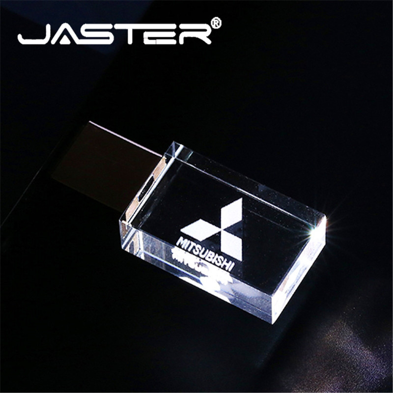 JASTER Memory-Stick U-Disk Usb-Flash-Drive Pendrive 4gb Crystal External-Storage 128GB
