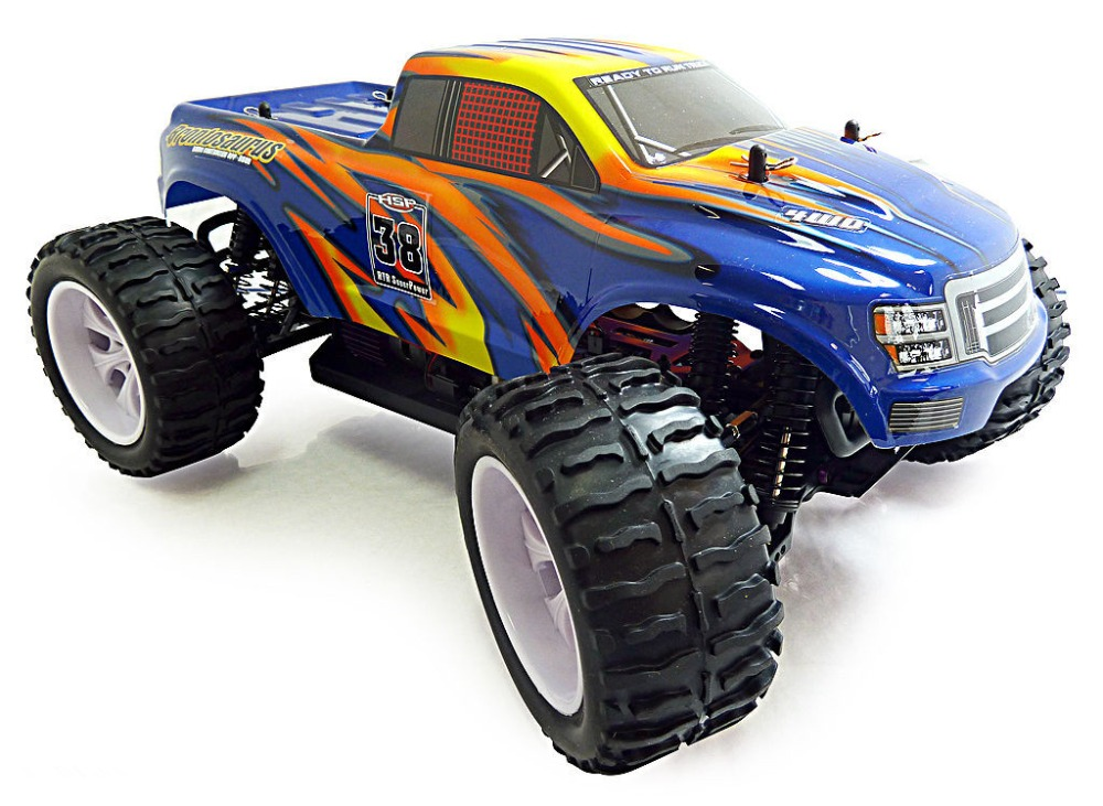HSP Rc Car 4wd 1/10 Scale Model Electric Car Off Road Monster Truck 94111 High Speed Hobby Remote Control Car 94111 hsp rc car 1 10 scale off road monster truck 94111pro remote control car high speed hobby brushless motor 4wd electric car