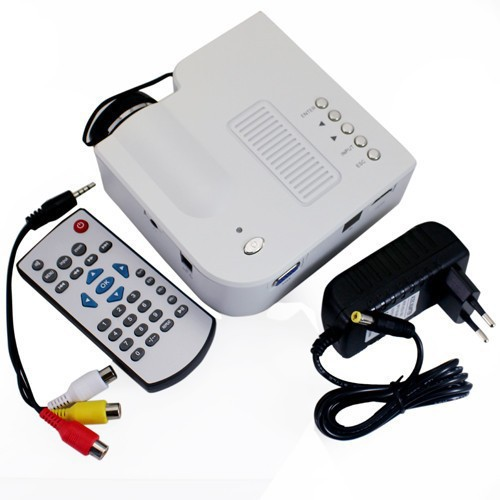 Hot Sale UC28 Projector HD 1080P Mini LED Digital Video Game Projectors Multimedia Player Inputs AV