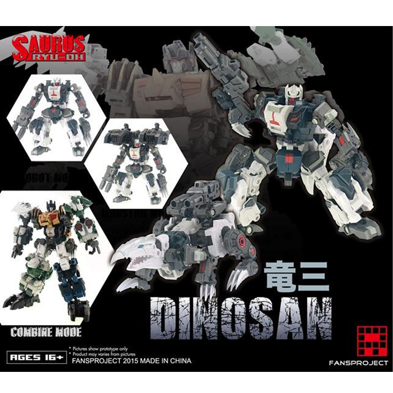 (In STOCK) Toy Fansproject FPJ Saurus RYU-OH 3 Dinosan