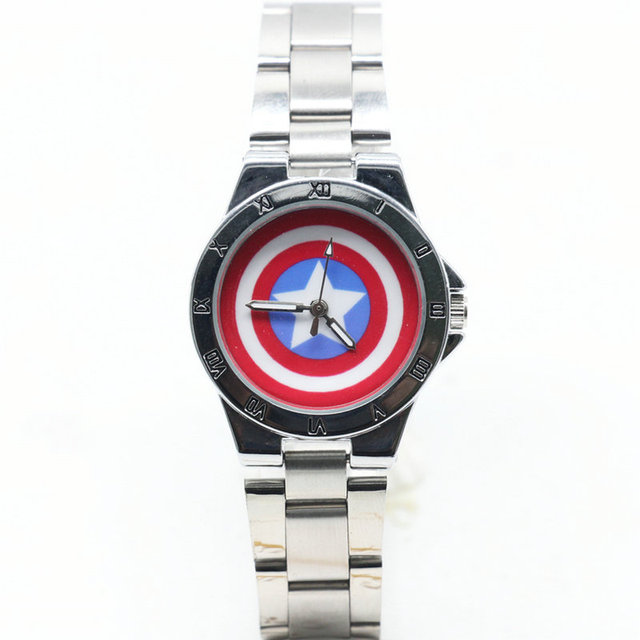 2018 New Captain America lady Luxury watch stainless steel Fashion Quartz Watche