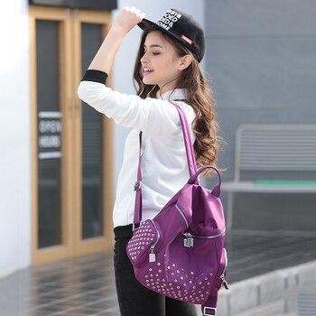 Equestrian Dressage backpack women bags school women travel tote bag womens Nylon backpack