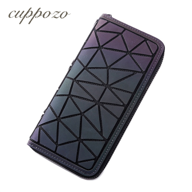 Cuppozo New Products Zipper Wallet Long Section Ms Clutch Geometry