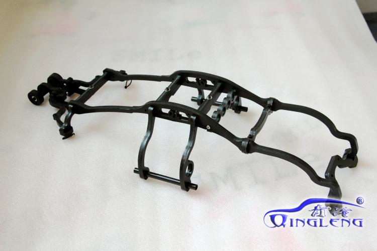 RC car TRAXXAS E REVO Car (1:10) shell version roll cage (including wheelie bar)
